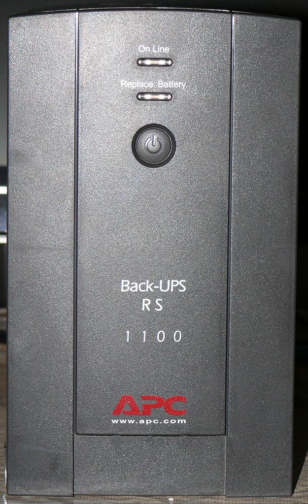 ИБП APC Back-UPS RS 1100 (BR1100CI-RS) - Обзоры оборудования