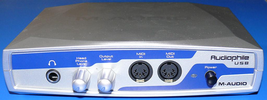 M-AUDIO Audiophile USB Driver Windows XP
